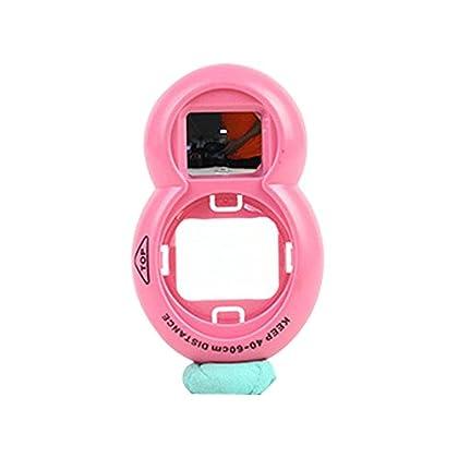Forusky Filtro de espejo de autorretrato Lente objetivo de cerca para la cámara Instax Mini 9, Mini 8, Mini 8 +, Mini 7s - Pink