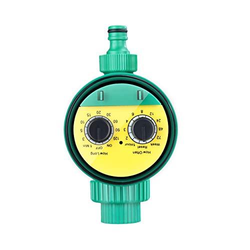 Tellaboull Regolatore elettronico di irrigazione Automatico in plastica per irrigazione del Giardino per la Massima praticità