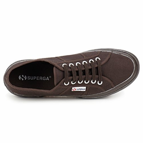 Superga, uomo espadrillas Full Dark Coffee