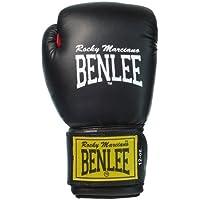 BenLee Rocky Marciano Fighter - Guante de boxeo (cuero) negro negro Talla:14 oz