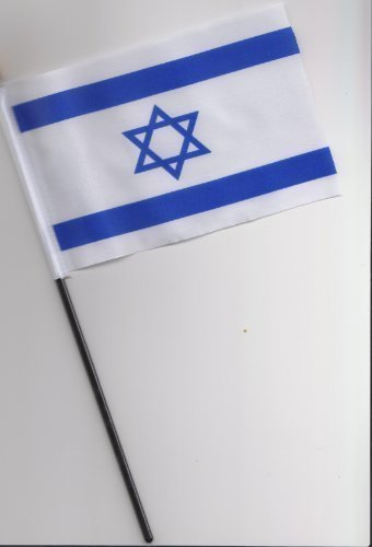 israël Drapeau à main 25 cm