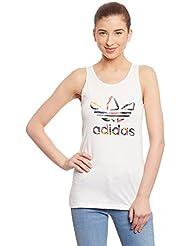 Adidas débardeur pour femme avec logo adidas trèfle