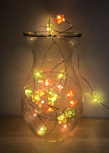 Tlcharger pdf fairy lights 40 led 6m flower string lights for fairy lights 40 led 6m flower string lights for christmas halloween party home bedroom decoration warm mightylinksfo
