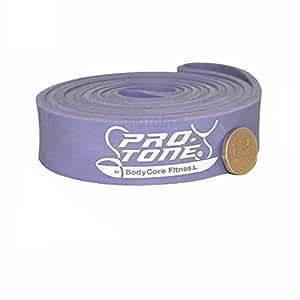 Protone, bandes de résistance pour tractions / musculation / mobilité - Violet, moyen