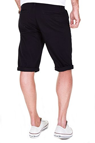 MERISH Chino Shorts Herren Kurze Hose Bermuda Shorts Modell J2065 Navy