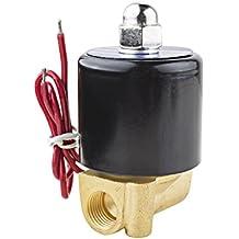 Sourcingmap/® 1//4bsp m/âle vers 1//4bsp Filetage femelle pneumatique /à gaz Ball Valve