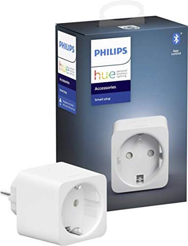 Philips Hue enchufe Smart Plug,  compatible con Bluetooth y Zigbee,  funciona con Alexa y Google Home