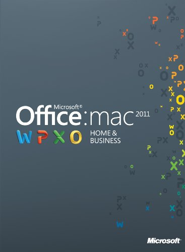 Office für Mac 2011 Home & Business - 1MAC/1User - englisch [Download]