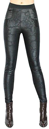 schicke-damen-thermo-leggings-winter-leggings-in-dezente-rosen-muster-mit-kunstleder-taschen-gr-s-xl