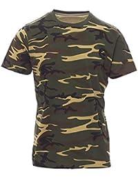 Mivaro Camiseta de Camuflaje para Niños 3df3c301555