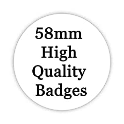 BERNESE MOUNTAIN DOG Button Badge 58mm Large Pinback Pin Back Lapel Novelty Gift