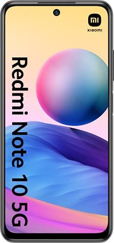 "Oferta de Xiaomi Redmi Note 10 5G (Pantalla 6.5"" 90Hz AdaptiveSync DotDisplay, 4GB+64GB, Triple Cámara 48MP, MediaTek Dimensity 700, 5G, 5000mah con carga 22,5W) Gris [Versión Española]"
