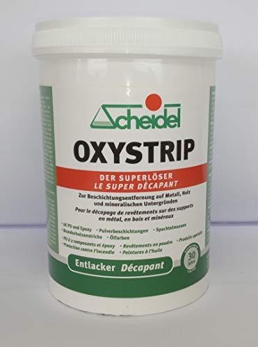 Oxystrip 1 Liter Abbeizer & Entlacker, Der Superlöser von Scheidel