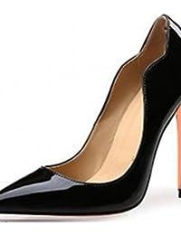 ZQ Zapatos de mujer-Tac¨®n Robusto-Tacones-Tacones-Oficina y Trabajo / Vestido / Casual-Microfibra-Rosa / Blanco / Gris / Beige , white-us9.5-10 / eu41 / uk7.5-8 / cn42 , white-us9.5-10 / eu41 / uk7.5-8 / cn42