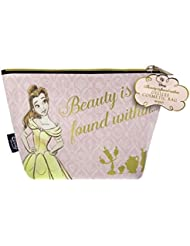 Mad Beauty ~ Disney ~ BEAUTY & THE BEAST ~ Cosmetic ~ Make Up ~ Toiletry Bag