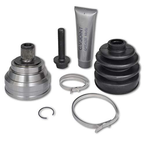 guyifuzhuangs Fahrzeugersatzteile & -zubehör Kfz-Teile Getriebe- & Antriebsteile 7 TLG. Gelenksatz Gelenk Antriebswelle Radseitig für Audi