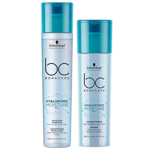 Schwarzkopf BC Bonacure Hyaluronic Moisture Kick Duo Shampoo 250ml & Conditioner 200ml