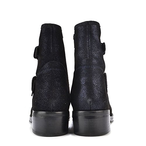Lola Cruz Boots, aus Wildleder, Damen Violett