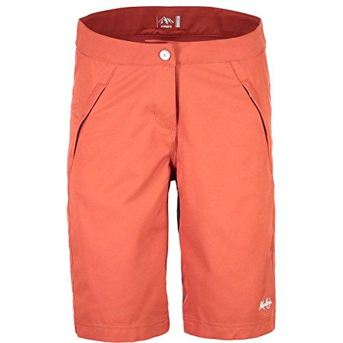 Maloja giugliam. Technische Shorts, Damen M rot (Maple Leaf)