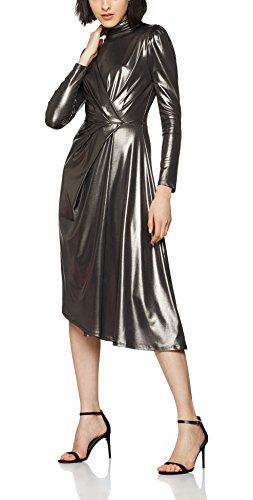 find-womens-metallic-wrap-party-dress-silver-gunmetal-xxx-large