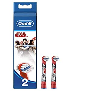 Oral-B Stages Power Star Wars Aufsteckbürsten (Für Elektrische Kinderzahnbürsten)
