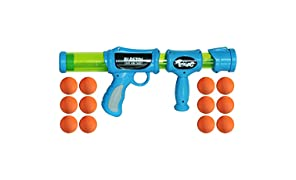 Toiing Blastoi Super Fun Exciting Air Popper Toy Gun with 12 Soft Foam Bullets