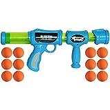 Toiing Blastoi Super Fun Exciting Air Popper Toy Gun with 12 Soft Foam Bullets