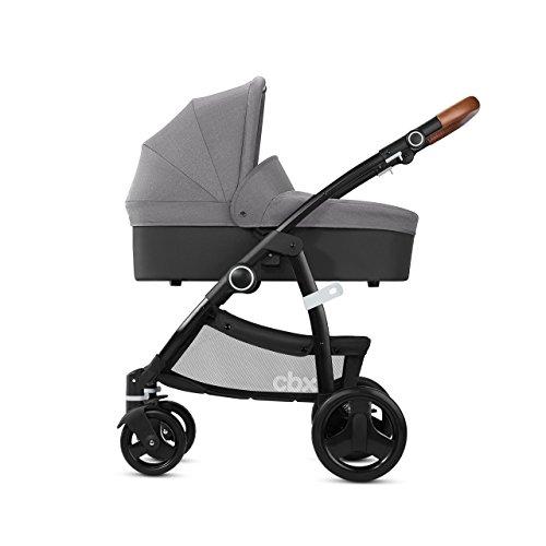 CBX Leotie Lux, Kombikinderwagen (inkl. Regenverdeck und Adapter für Babyschale), Kollektion 2018, comfy grey