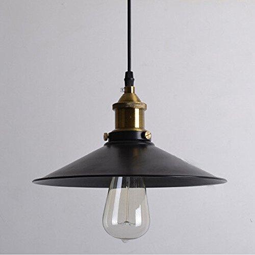 Buyee® 2*Vintage Industrial Edison Ceiling Light Metal Head Metal Shade Loft Coffee Bar Kitchen Hanging Pendant Llight Lamp Shade without Bulb