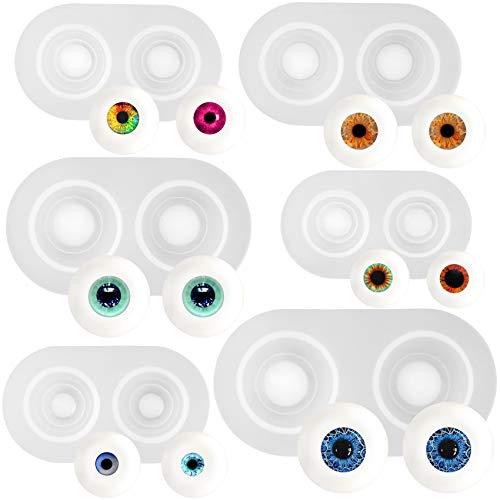 musykrafties Silikonform für Augenbrauen, 6 Stück