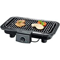 Severin PG 8518 - Barbacoa grill de 2500 W, ajustable a 2 alturas, microinterruptor de seguridad, termostato ajustable