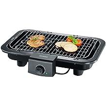 Severin PG 8518 - Barbacoa grill de 2500 W, ajustable a 2 alturas, microinterruptor