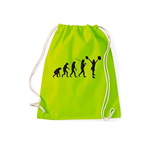 Borsa Da Ginnastica Evoluzione Cheerleader Cheerleader Costume Divertimento Sport Danza Gymsack Borsa Cult Lime