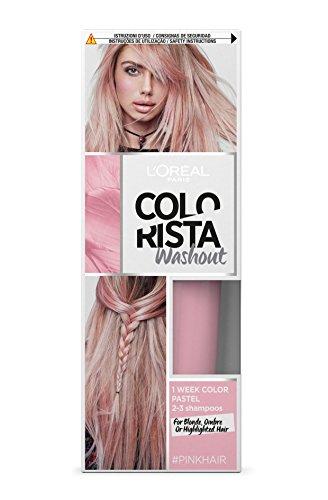 L'Oréal Paris Colorista Washout Pastel, Colorazione Temporanea 1 Settimana, Rosa (Pink)