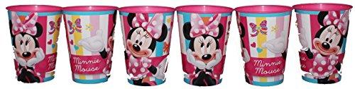 Disney Minnie Maus Trinkbecher Saftbecher Becher Set (6 Stück)