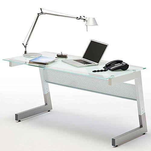 Schreibtisch Paris in Weiß Pharao24