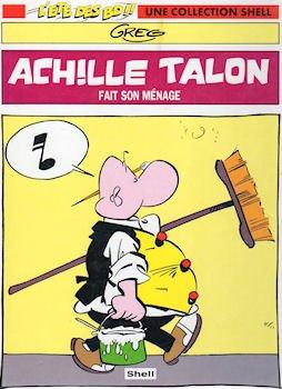 Greg - Achille Talon fait son ménage - Shell l'été des BD - 2