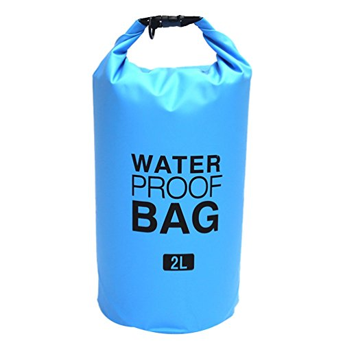 SunWanyi Wasserdichte Tasche Rucksack Outdoors Dry Bag Trockentasche mit den Zeiten Langen Verstellbaren Schultergurt Boot und Kajak Schwimmen Camping