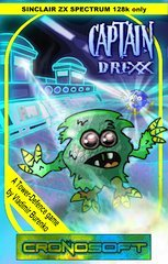 Price comparison product image Captain Drexx 128K Spectrum game cassette 2014 Cronosoft release