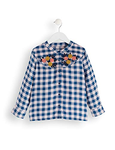 RED WAGON Blouse Camicia Bambina Blu 122