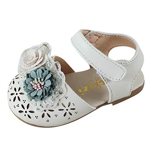 Amlaiworld Kleinkind Infant Kinder Baby Mädchen Süße Elegante Perle Blume Prinzessin Schuhe...