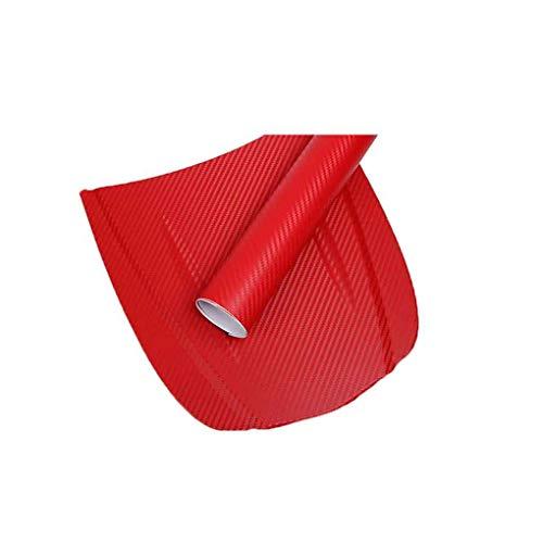 Gankmachine Fibra del Carbonio 3D dell\'automobile Pellicola Adesiva Auto Wrap Sticker Sheet Rotolo Fai da Te Decalcomania della Decorazione di High Gloss Impermeabile