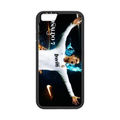 Cristiano Ronaldo coque iPhone 6 4.7 Inch Housse téléphone Noir de couverture de cas coque EBDXJKNBO16220