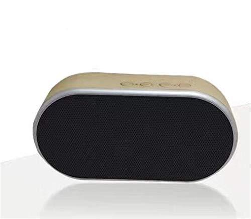Altavoz Bluetooth Que Carga Audio Mini subwoofer portátil Radio inalámbrica al Aire...