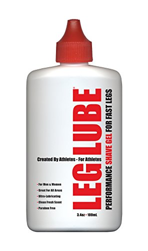 Leg Lube Performance Shave Gel, 3.4-Ounce/100ml by Leg Lube, LLC - 3.4 Gel