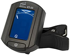 Eno ET33 Chromatic Clip-on Tuner - Guitar, Bass, Ukulele and Violin