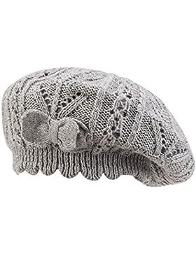 [Patrocinado]Superora Casquillo de Bóveda Boinas Niña Gorras Sombrero Muchacha de Algodón Beanies Bebé de Punto Cálido para...