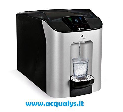 Dispenser acqua WL CUBE CAS. Erogatore d'acqua refrigerata, frizzante e a temperatura ambiente.