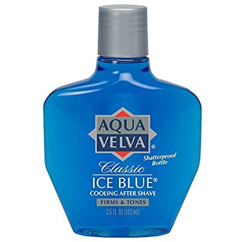 Aqua Velva After Shave, Classic Ice Blue, 3.5 Ounce by