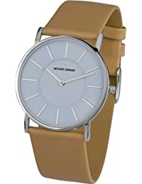 Jacques Lemans York - Reloj de cuarzo para mujer, con correa de piel de borrego